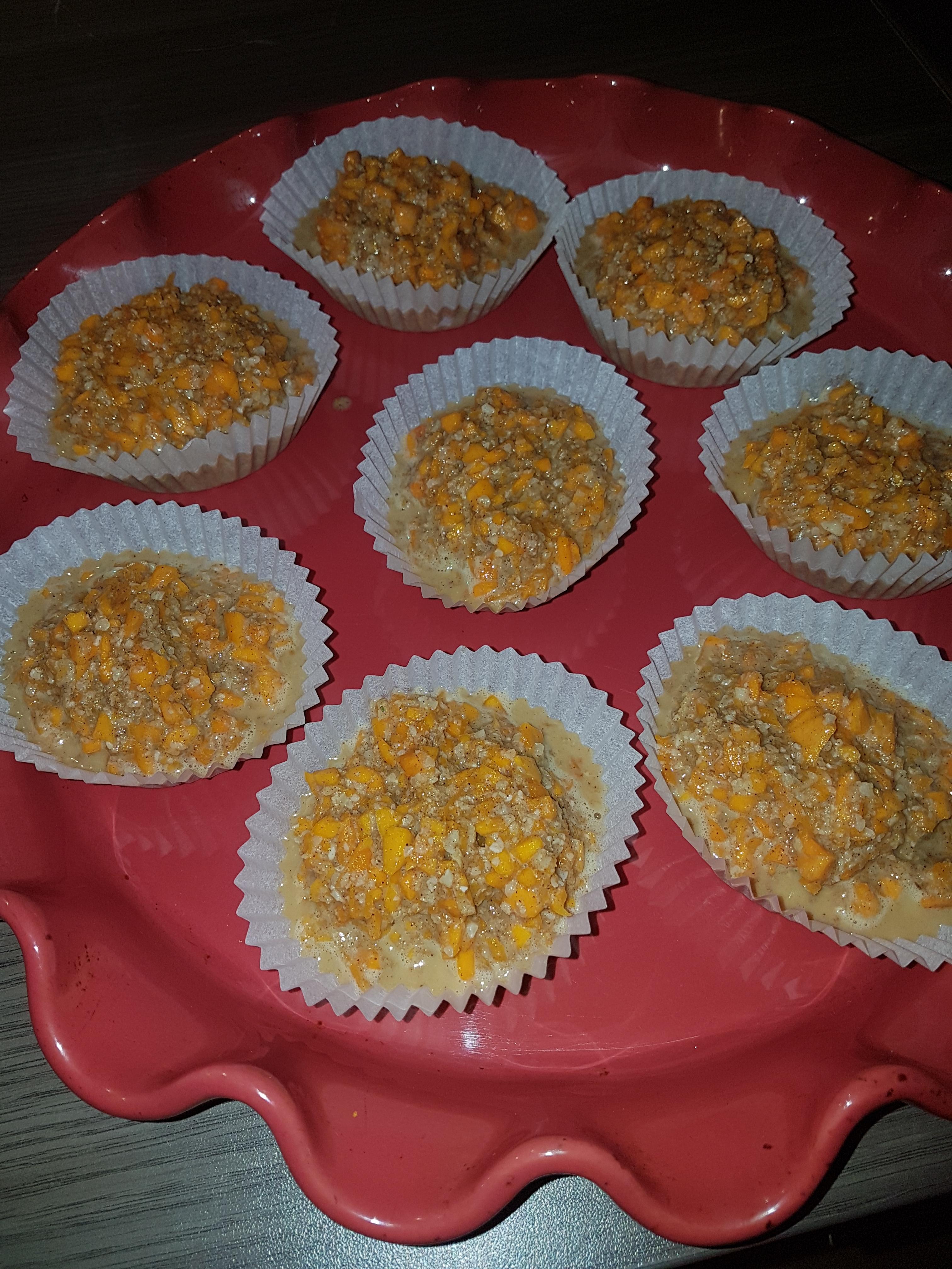 Petits gâteaux amande potimarron